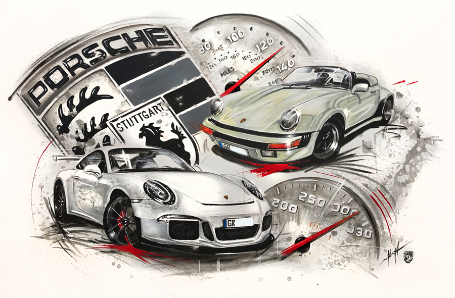 GT3 vs. Speedster 1989